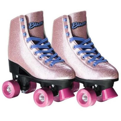 Patins Rollers 4 For You Quad Numero 34 Com Gliter Multikids
