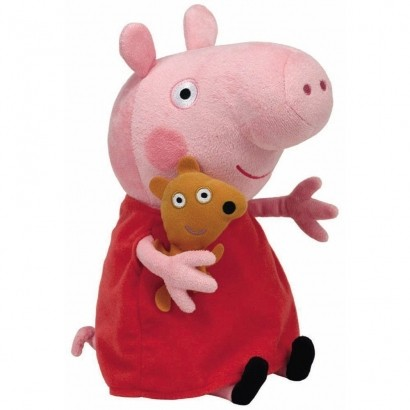 Pelúcia Peppa Pig 30cm Dtc 4536