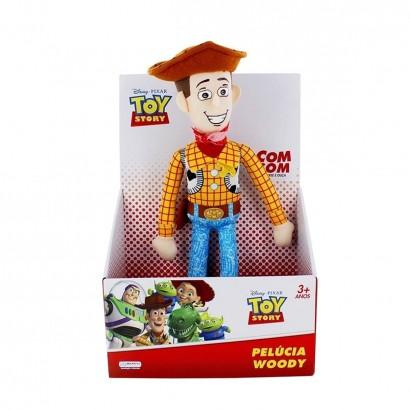 Pelucia Woody Toy Story Com Som