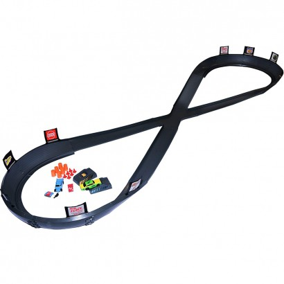Pista Crash Racers com 2 Carrinhos Corra Destrua Restaure Multikids BR1043