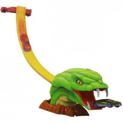 Pista de Carrinho Com Cobra Brinquedo Speed Snake