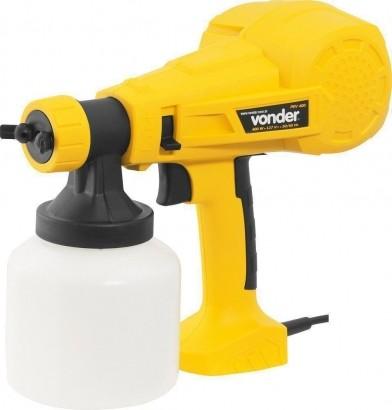 Pistola Pintura Elétrica Dispensa Uso Compresor Vonder 220V