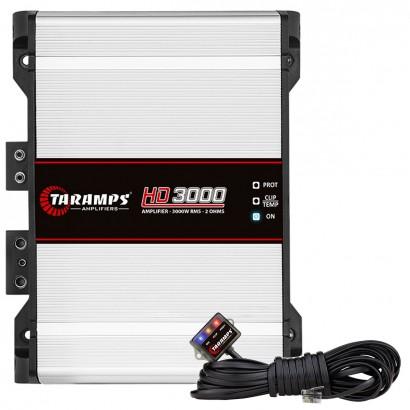 Potência Taramps HD3000 Compact 2 Ohms 1 Canal