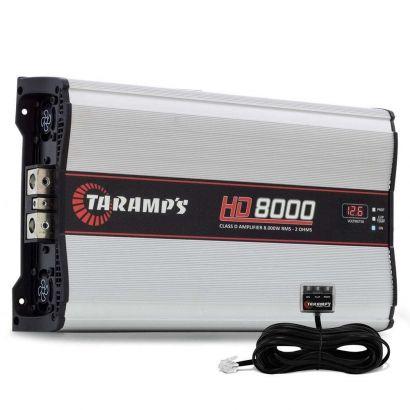 Potência Taramps HD 8000 2 Ohms 1 Canal