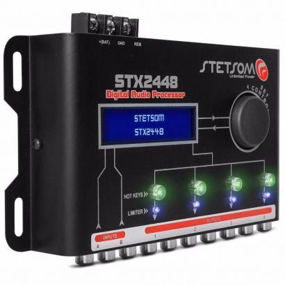 Processador de Áudio Digital Stetsom STX2448 4 Saídas Estéreo