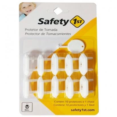 Protetor de Tomada Anti-Criança 10 Unidades - Safety 1st