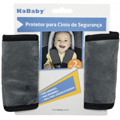 Protetor Para Cinto de Segurança Bebê Até 2 Anos Carro Infantil Acolchoado Aveludado Kababy