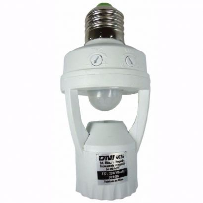 Sensor De Presença Automação Lâmpada Iluminação Fotocélula
