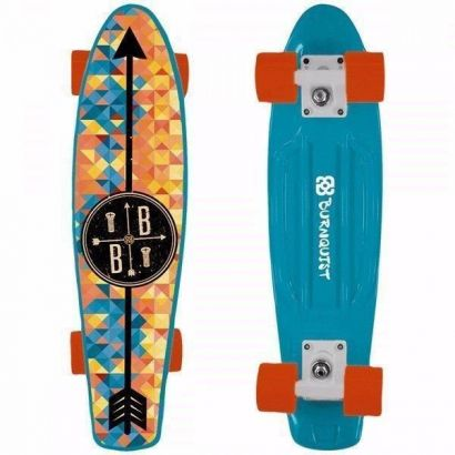 Skate Mini Cruiser Atrio Multilaser Bob Burnquist Azul Es093