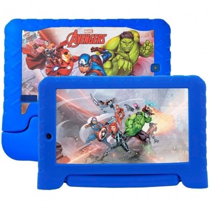 "Tablet Multilaser Marvel Avengers Kid Pad 7"" Plus NB280"