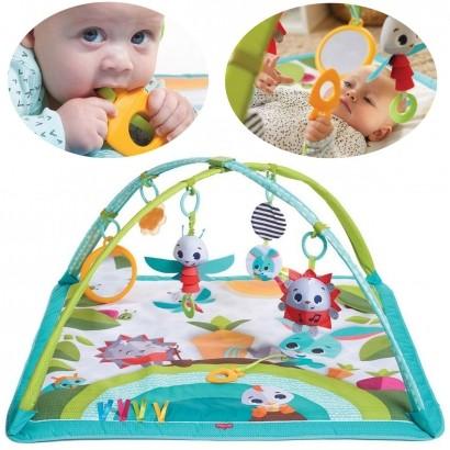 Tapete de Atividades Bebê Infantil Criança Chocalho A Partir dos 2 Meses Gymini Meadow Days Tiny Love