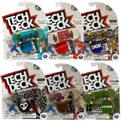 TECH DECK 96MM FINGERBOARD SORTIDO MULTIKIDS BR263