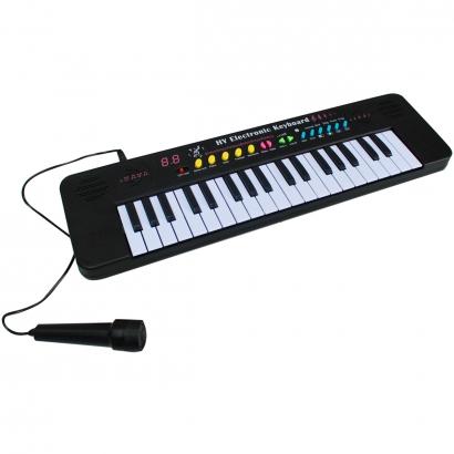 Teclado Musical Infantil Iniciante 37 Teclas Com Alto-falante Microfone Ajuste de Volume Sons Gravados Importway