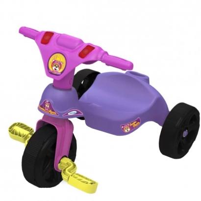 Triciclo Infantil Criança 12 Meses a 23 Kg Sem Empurrador Oncinha Racer Xalingo