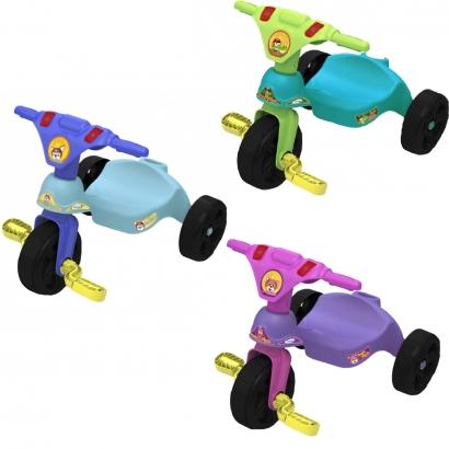 Triciclo Infantil Criança 12 Meses a 23 Kg Sem Empurrador Racer Xalingo