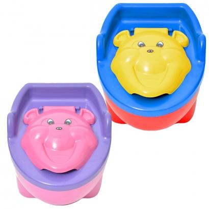 Troninho Penico Musical Para Crianças Até 30kg Urso Bonpoint