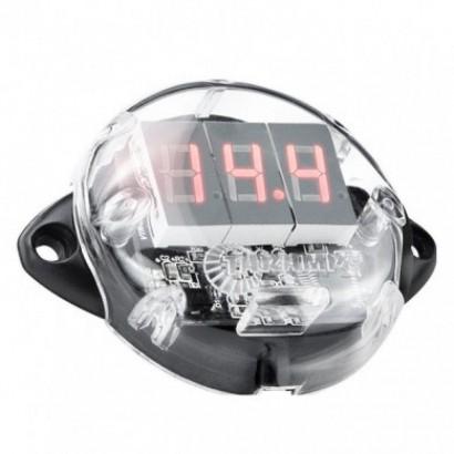 Voltímetro Taramps Digital Vtr1000 Remote E Display Vermelho para Bateria