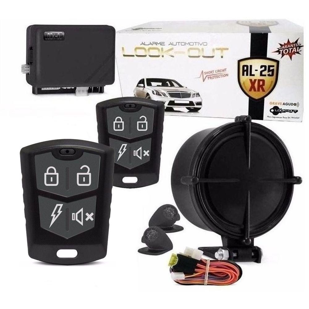 Alarme Automotivo Look Out AL25XR Com 2 Controle