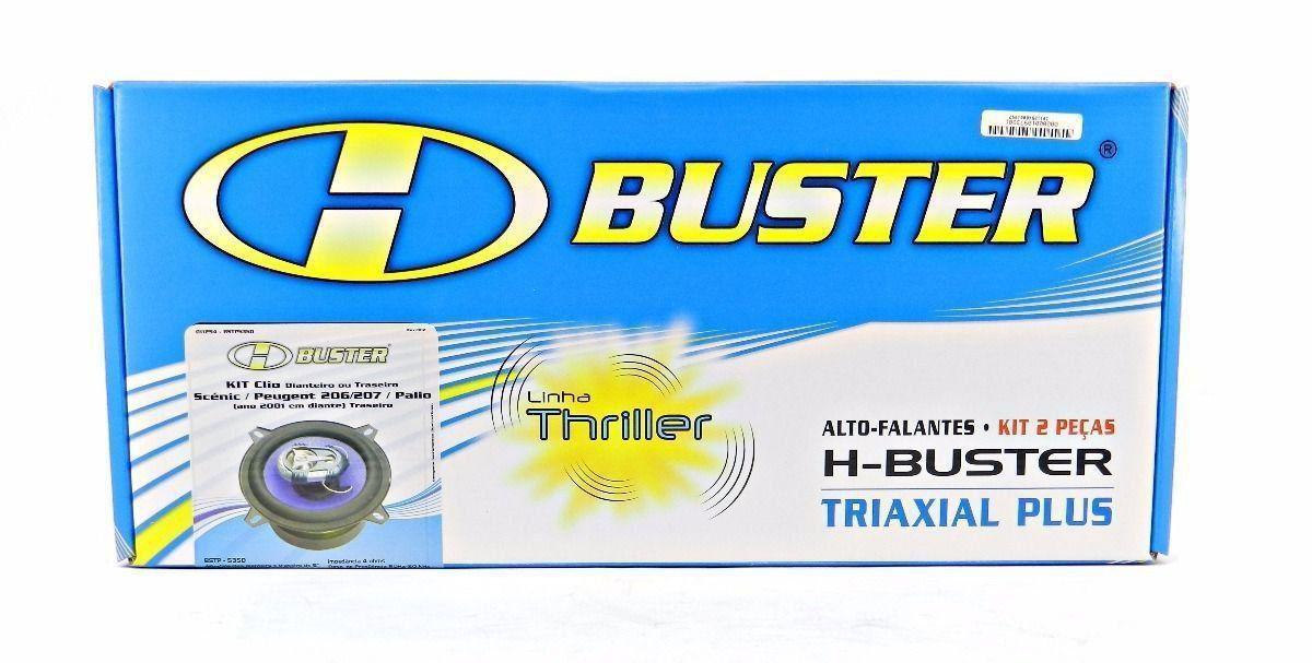 Kit Alto Auto Falante Universal H-buster Bstp 535d 5 55w Rms