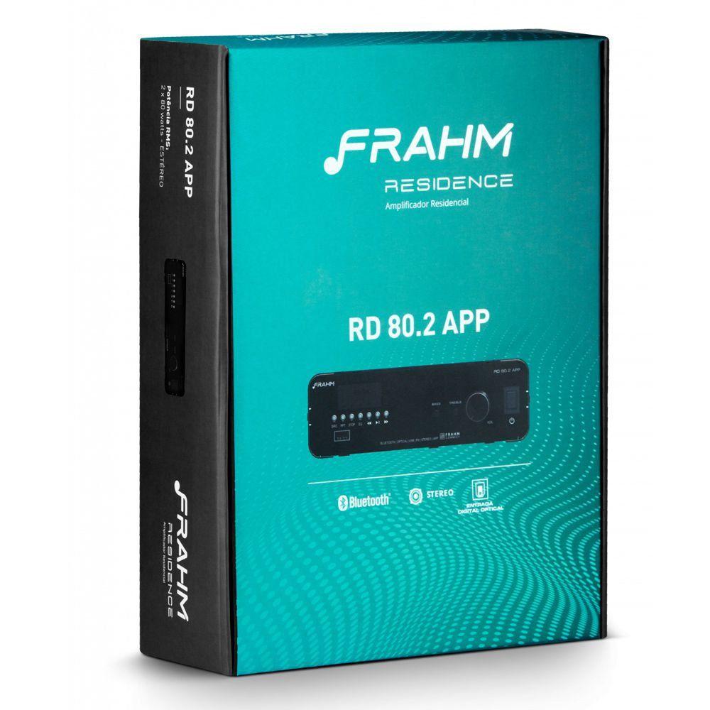Amplificador Receiver Residence RD80.2 APP Frahm