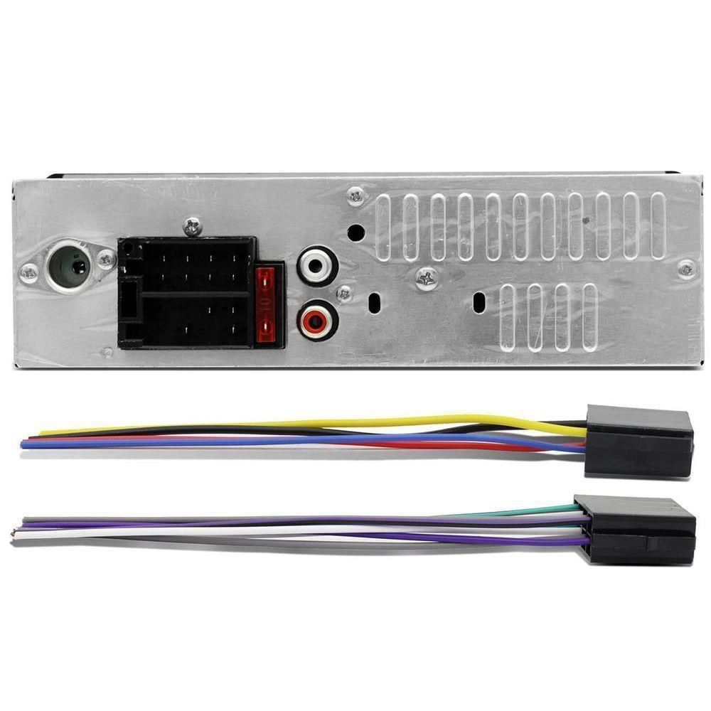 AUTO RADIO H-TECH FM USB/SD/AUX 4X25W BOTÃO CROMADO HMP-2000