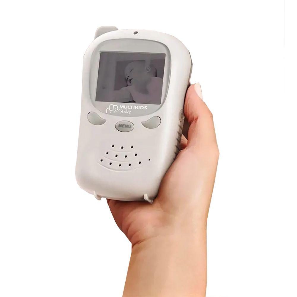 Baba Eletronica Com Câmera Sem Fio E Visão Noturna Multikids