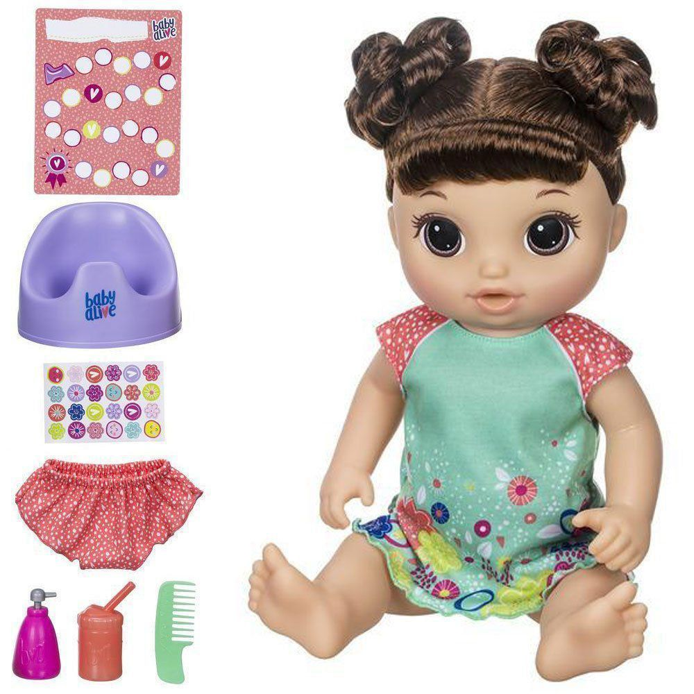Boneca Baby Alive Morena Primeiro Peniquinho E0610