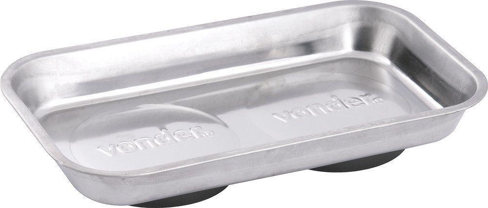 Bandeja Magnética Retangular 140x240mm Vonder Aço Inoxidável