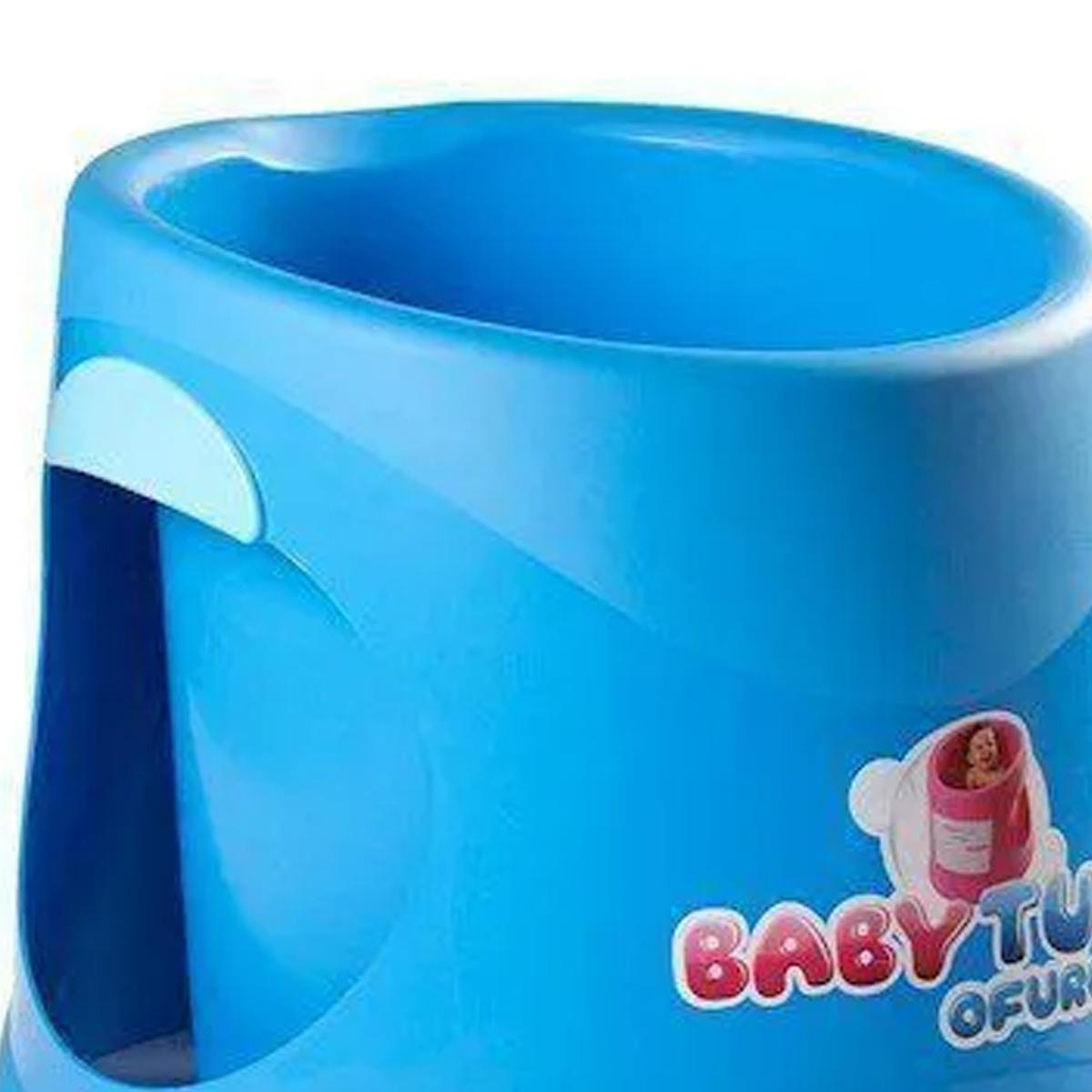 Banheira BabyTub Ofurô Azul BBT054 de 1 Até 6 Anos