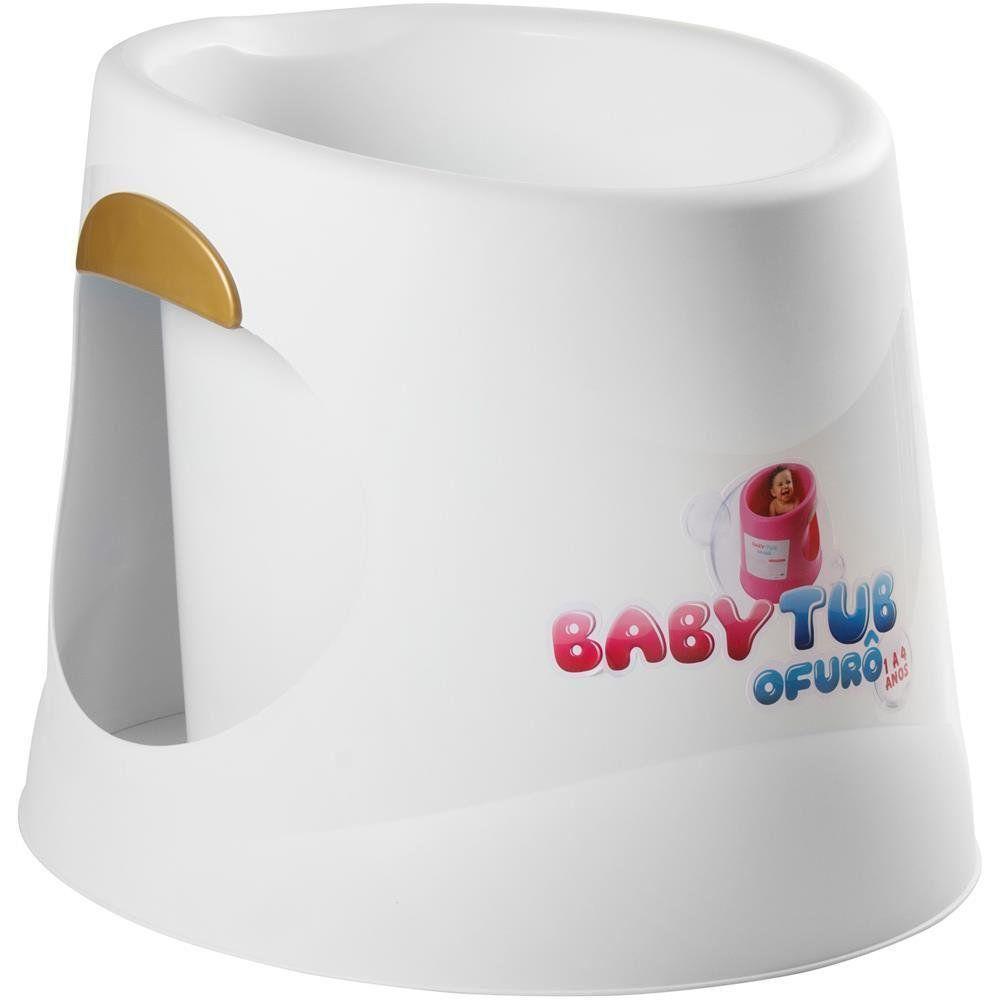 Banheira BabyTub Ofurô Branca BBT055 de 1 até 6 Anos