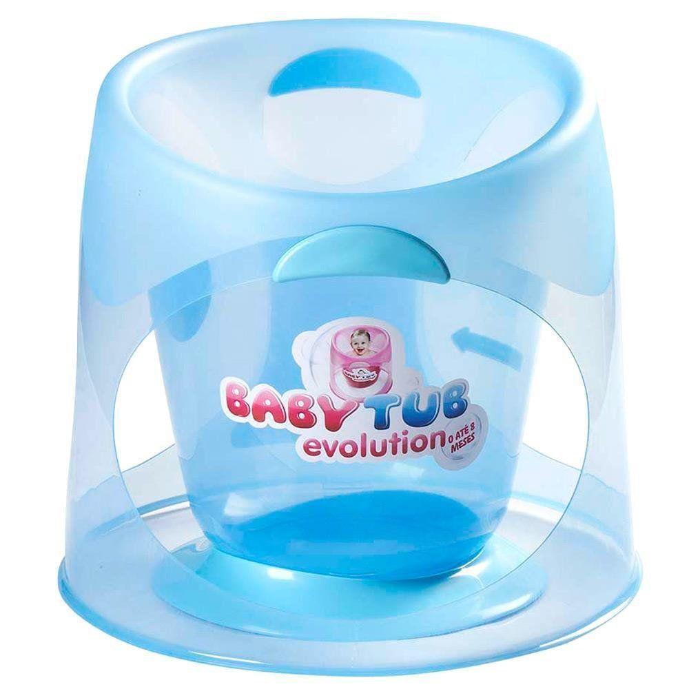 Banheira BabyTub Ofurô Evolution Azul BBT152 de 0 até 8 Meses