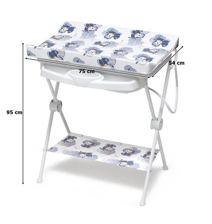 Banheira Para Bebê Completa Luxo Galzerano Aviador 7015AV