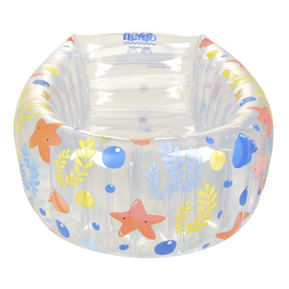 Banheira Inflável Burigotto Nemo New Cristal