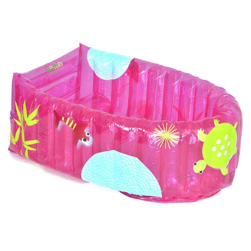 Banheira Inflável Burigotto Nemo Pink