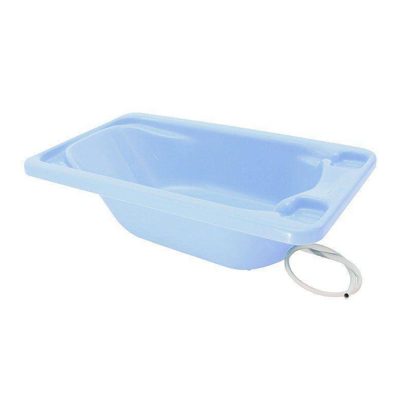 Banheira Rigida Galzerano Azul Pastel Para Bebe Avulsa 7055A