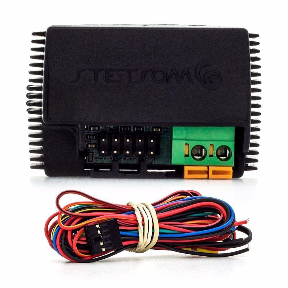 Bloqueador Stetsom Mini Block Universal Corta Combustível, Corrente e Ignição
