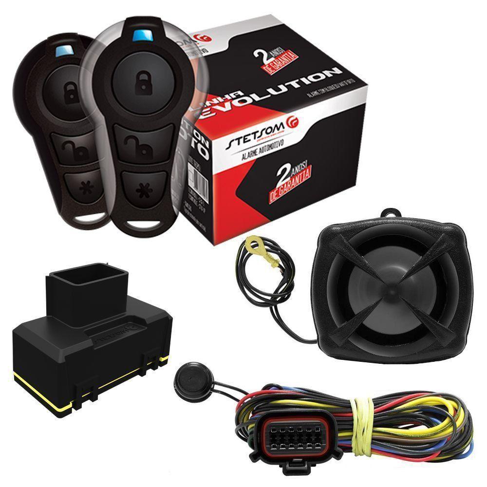 Bloqueador Stetsom Mini Block para Moto Triploi 1 Controle CX-1P + 1 Controle CX-1