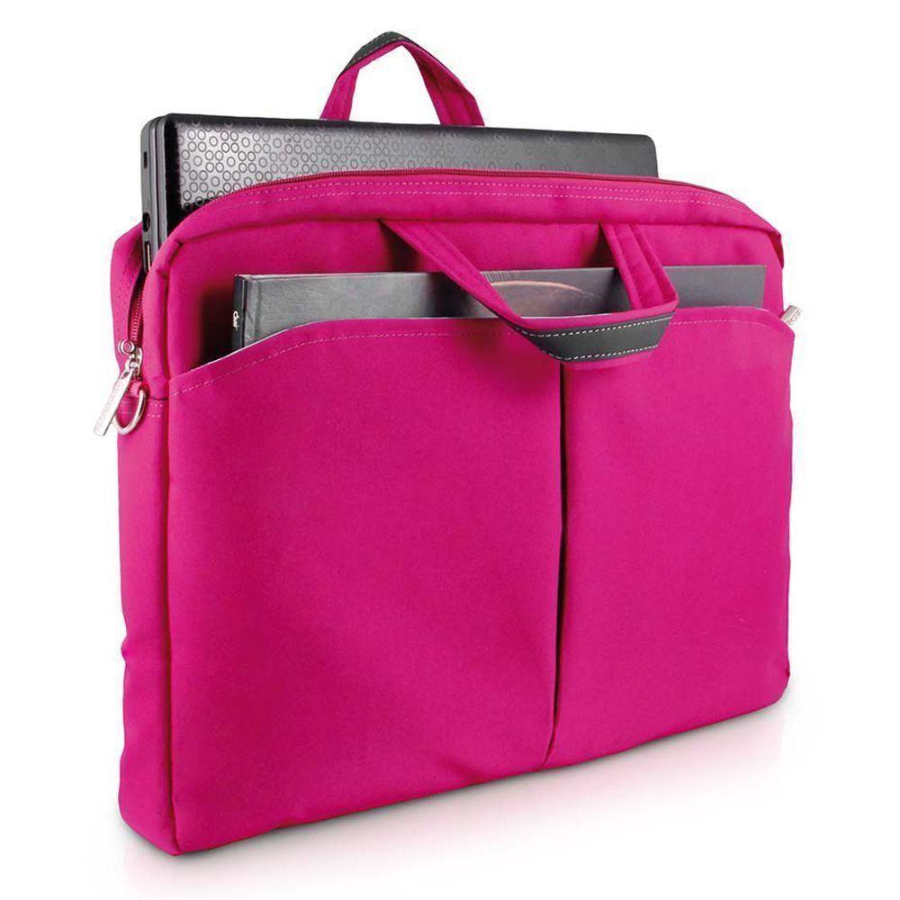 Bolsa Feminina Para Notebook Rosa 15 Pol. Multilaser BO170