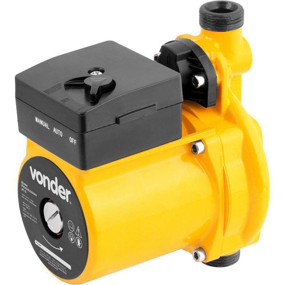 Bomba Pressurizadora Residencial Aumento Pressão Água 220V Vonder