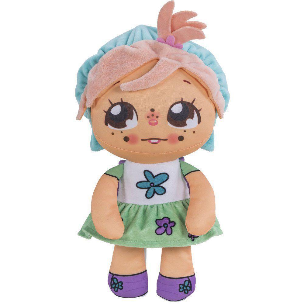 Boneca Ana Flipkins + 1 Cutie Pet Flipe E Cresça 4732 Dtc