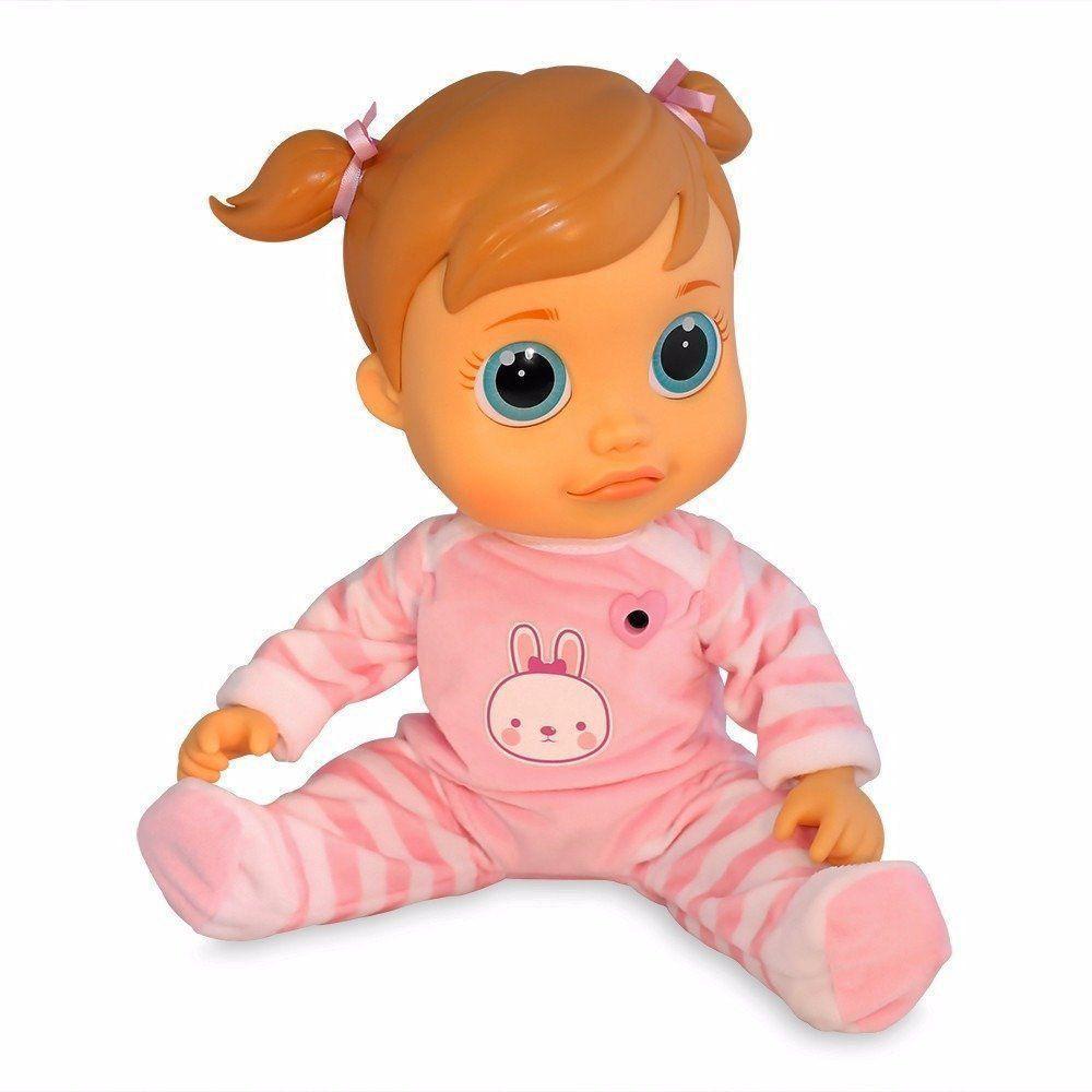 Boneca Baby Wow Analu Bebe Criança Menina Multikids BR732