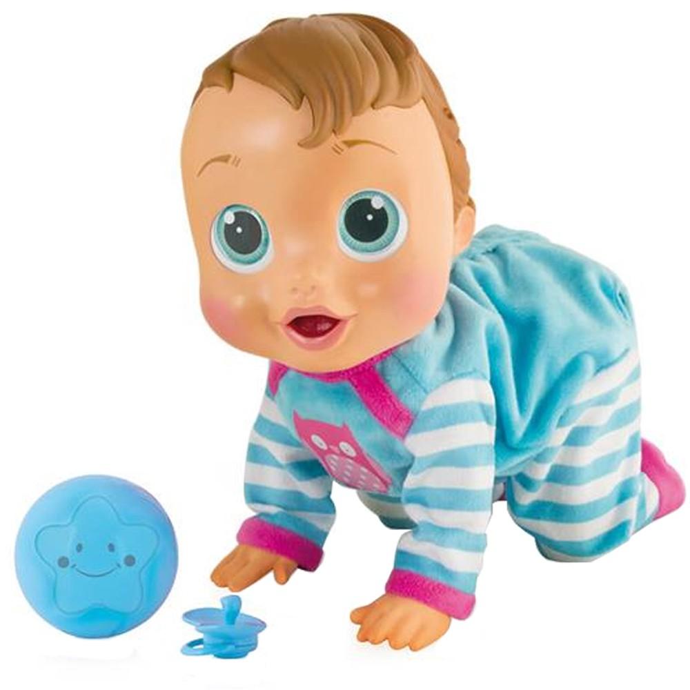 Boneca Baby Wow Multikids Br582 Engatinha Fala Levanta