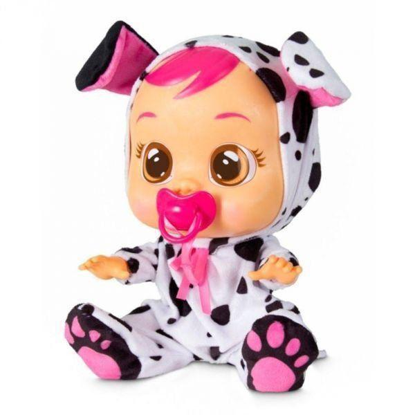 Boneca Cry Babies Dotty Que Chora de Verdade Para Bebe - Multikids