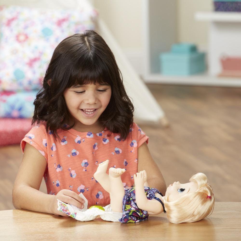 Boneca Loira Baby Alive Papinha Divertida Hasbro E0586