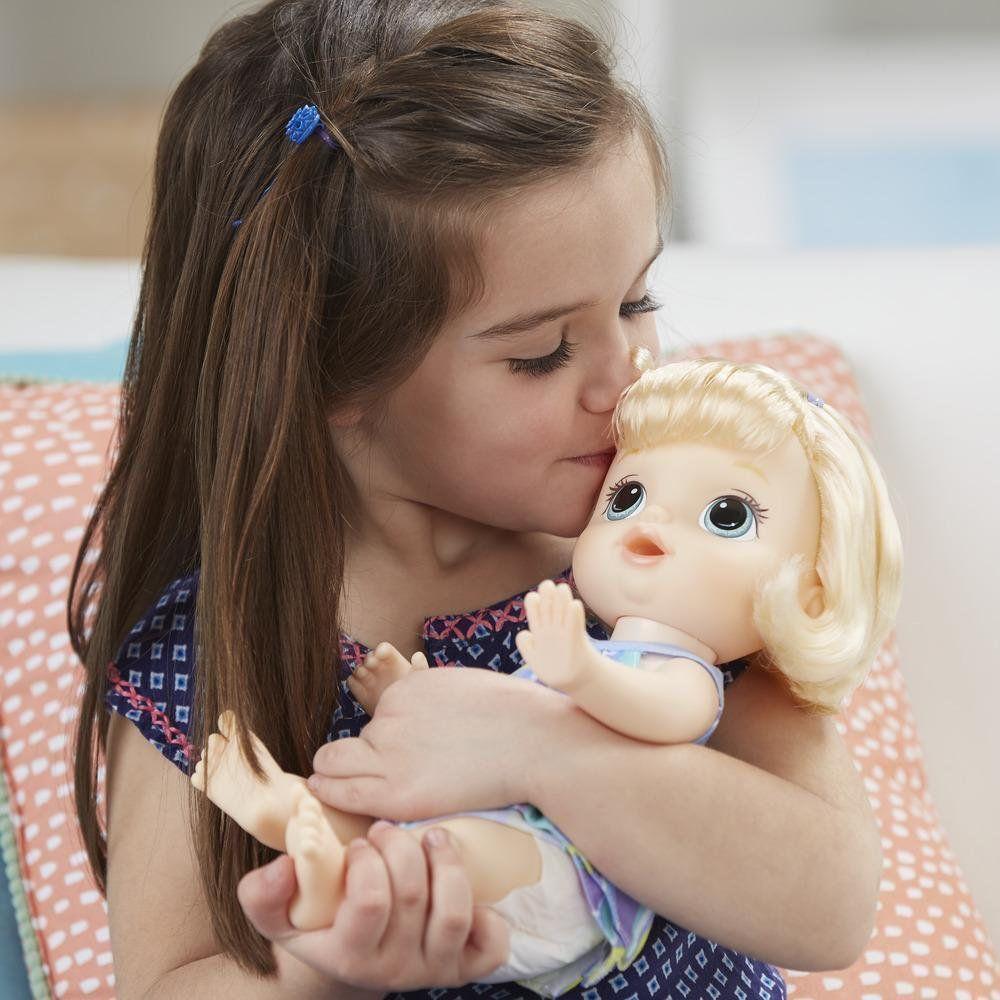 Boneca Loira Baby Alive Pequena Artista Hasbro C0960