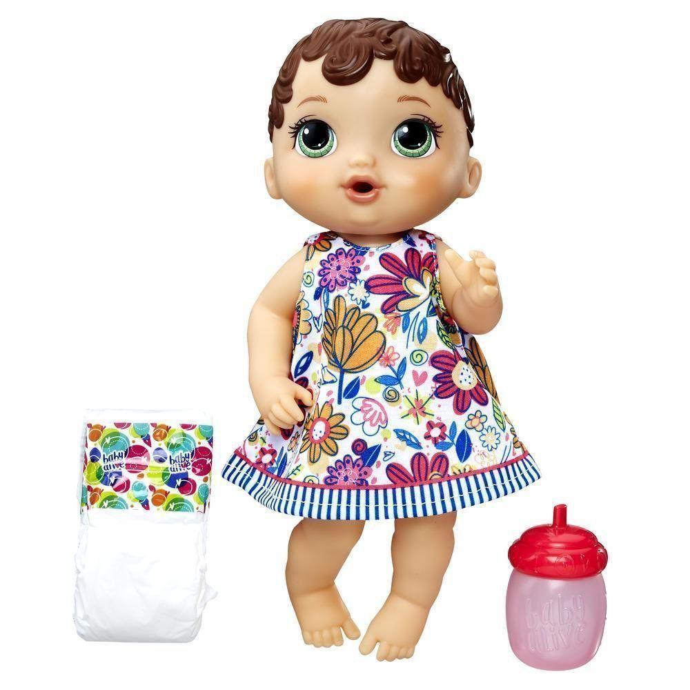 Boneca Morena Baby Alive Hora do Xixi Hasbro E0499