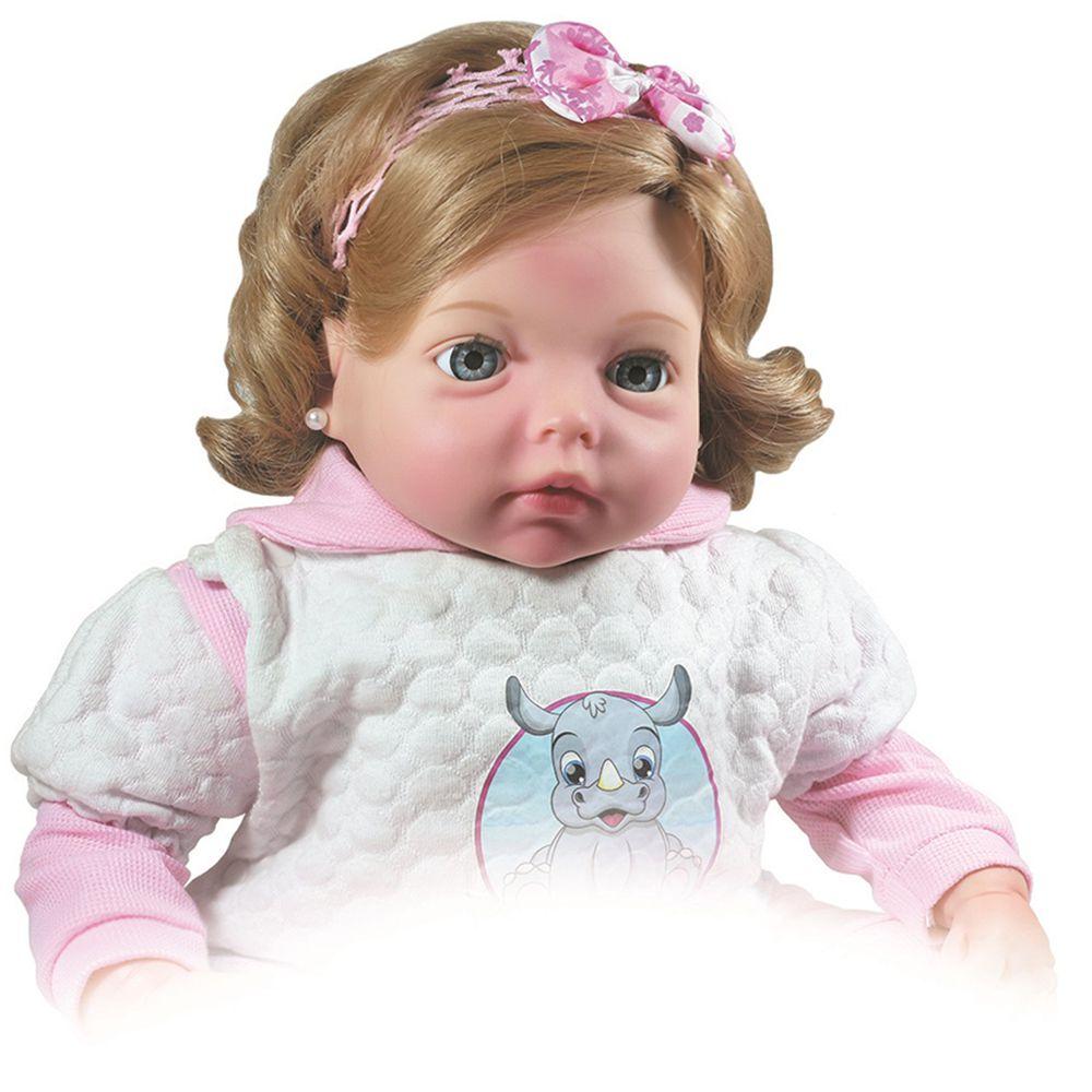 Boneca Realista Tipo Bebe Reborn Yasmin 1172