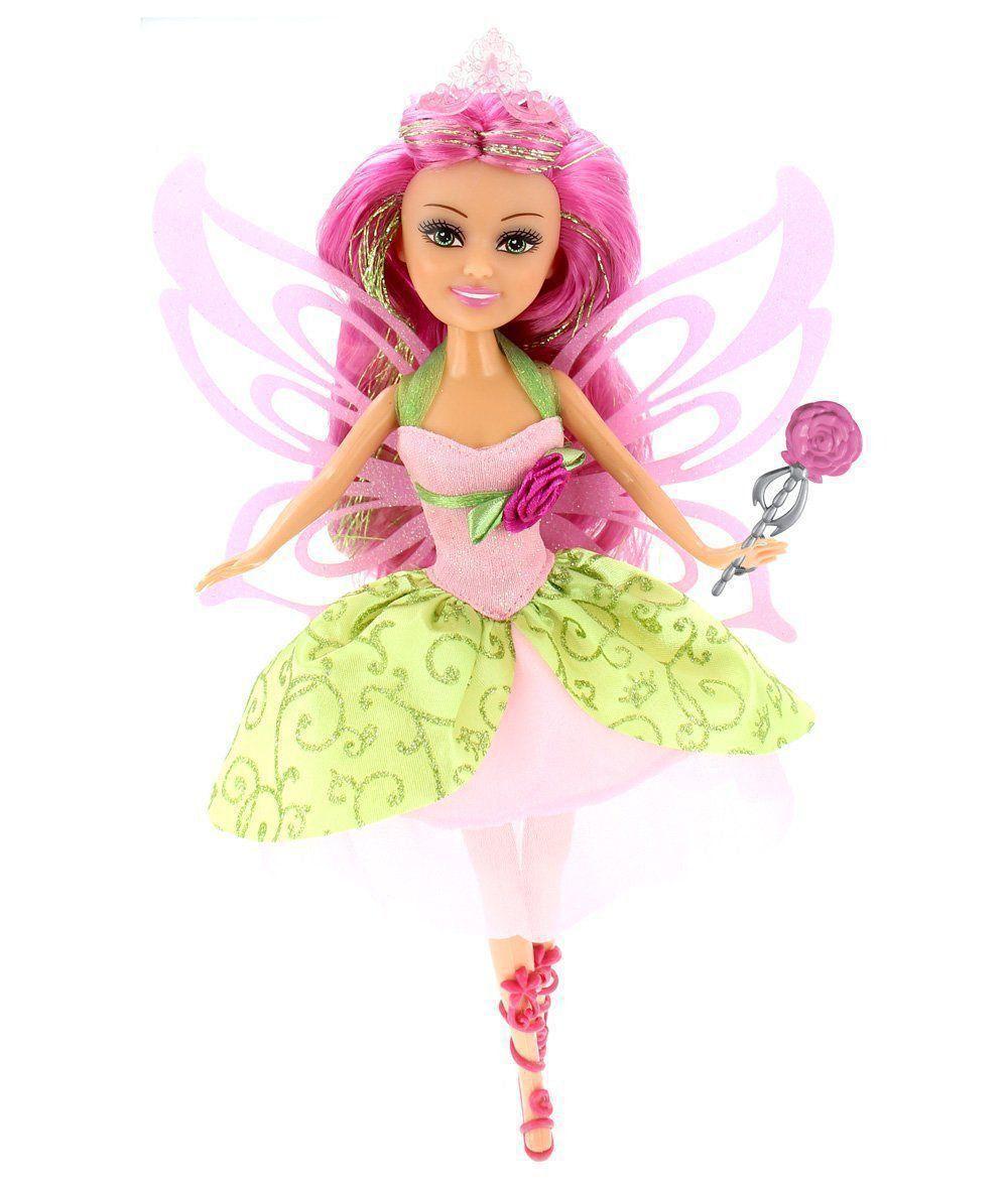 Boneca Sparkle Girlz Fada Das Flores Bianca com Acessórios DTC 4804