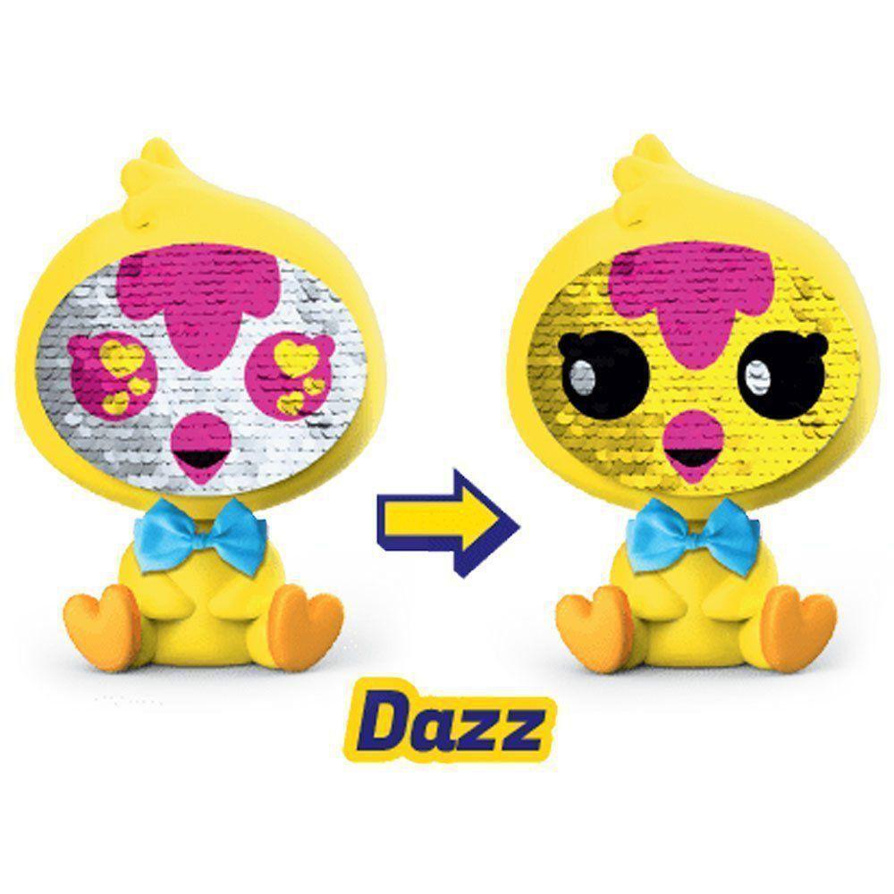 Boneca Zequins Emoções que Brilham Dazz Série 1 Dtc 4840