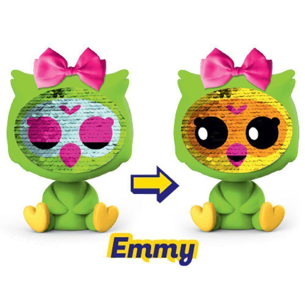 Boneca Zequins Emoções que Brilham - Emmy Série 1 - Dtc 4840